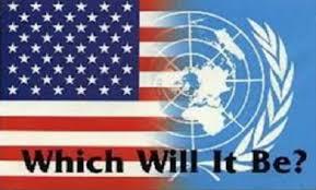 USA-UN flag